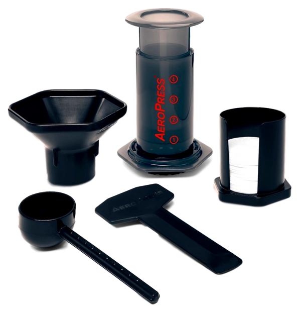 AeroPress Classic with accessories